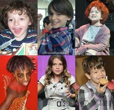 Itty bitty little Stranger Things cast Stranger Things Actors, Stranger Things Have Happened, Stranger Things Funny, Stranger Things Netflix, Millie Bobby Brown, Best Shows Ever, Best Tv Shows, Charlie Heaton, Sadie Sink