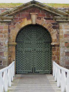 Entrée de Fort George (1748-1757), Ardersier, comté d'Inverness, Highlands, Ecosse, Grande-Bretagne, Royaume-Uni.