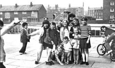 Children playing in Toxteth, Liverpool in 1974
