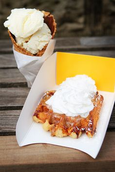 Must get a liege waffle from the Wafels & Dinges truck in Central Park!!