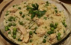 Zöldborsós rizseshús recept fotóval