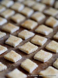 ciasteczka-twarogowe-na-blasze Cannoli, Truffles, Food And Drink, Menu, Sweets, Candy, Cookies, Chocolate, Biscuits