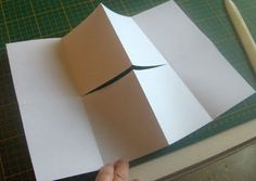 My Handbound Books - Bookbinding Blog: Bookbinding 101 - Secret Fold Notebook Tutorial