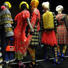 Meadham Kirchhoff London Fashion Week 2012