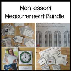 Have you been looking at how to integrate the measurement strand into your classroom? Are you confused about what order to teach things? Montessori Math, Montessori Elementary, Montessori Materials, Elementary Math, Curriculum, Homeschool, Volume And Capacity, Learning Objectives
