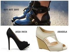 raio x do sapato