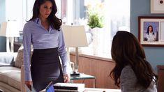 Rachel (Meghan Markle) and Jessica (Gina Torres) in season 6, episode 7 of…