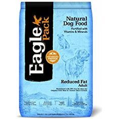 Dog Agility Reduced Fat Dry For Adult Dogs 30 pound bag Eagle Pack Reduced Fat Pork Meal and Chicken Meal Dry Dog Food is formulated to support healthy weight loss. - Supports Healthy Weight Loss: Formulated with less fat than Original Chicken Low Fat Dog Food, Best Dog Food, Dry Dog Food, Cat Food, Fat Dogs, Natural Pet Food, Dog Food Brands, Hamster, Dog Training Tips