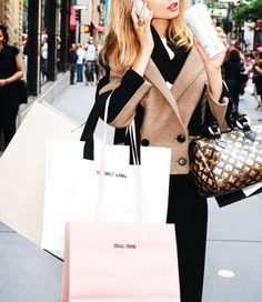 When all you do all day is shop! What a Luxury Life! Easy Living...
