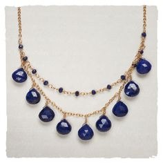 Arhaus Jewels- Lula Designs Queen's Lapis Necklace