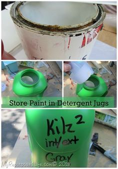 How I deal with Rusted Paint Cans