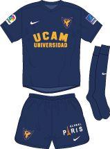 UCAM Murcia of Spain home kit for 2016-17.
