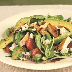 Eat Clean to Get Lean - Turkey Avocado Cobb Salad
