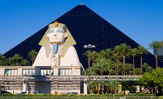 An exterior look at the Luxor hotel in Las Vegas. (Photoquest / Dreamstime.com)