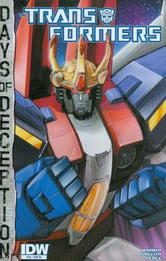 Transformers Vol 3 #35 Cover C Incentive Andrew Griffith 30th Anniversary Variant Cover (Days Of Deception Tie-In)
