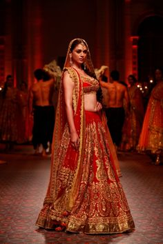 #YouBeauty @AditiRaoHydari as a #Desi Bride in @PreetiSkapoor1 http://www.PreetiSKapoor.com/ #Lehenga at Aamby Valley India Bridal Week 2013