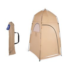 Free 2-day shipping. Buy TOMSHOO Portable Outdoor Shower Bath Changing Fitting Room Tent Shelter Camping Beach Toilet at Walmart.com Portable Outdoor Shower, Portable Tent, Portable Toilet, Zelt Camping, Camping Tarp, Camping Stuff, Outdoor Shower Enclosure, Shower Tent, Outdoor Privacy