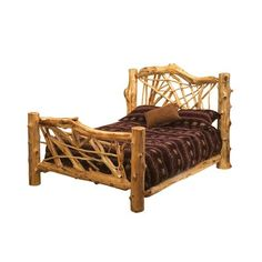 Shop Fireside Lodge Furniture Cedar Twig Bed at The Mine Browse our