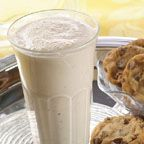 Toll House Chocolate Chip Cookie Milkshake - Serve this milkshake for a special treat, after school or in place of dessert. Kids of all ages will love it in tall glasses with a cherry on top! ...And by all means, use your homemade Toll House chocolate chip cookies if you have 'em on hand.