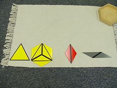 Visual Discrimination of Form Constructive Triangles - Large Hexagonal Box Geometry, Officiel, Album, Box, Learning, Montessori Sensorial, Boxes, Card Book