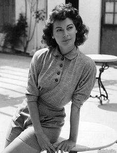 Ava Gardner, Spain, 1951