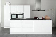 Linea white keuken - Minimalistisch en doordacht - Kvik