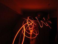 whip of light.... long exposure