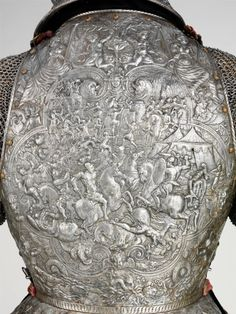 French ceremonial armor from the period of Henri III (reigned 1574–89).