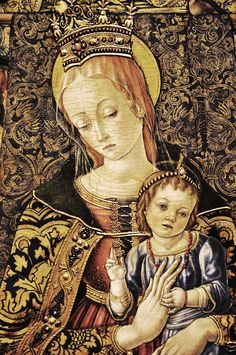 Vittorio Crivelli (Italian artist, c 1440-1501) Madonna and Child