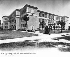 Florida Memory - Ida M. Fisher High School - Miami Beach, Florida