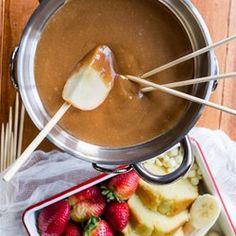 Peanut Butter Fondue - Allrecipes.com
