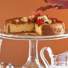 Pumpkin...maple...cheesecake!