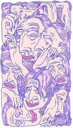 Art wallpaper iphone illustrations Ideas for 2019 Free Illustration, Illustrations, Graphic Design Illustration, Arte Indie, Art Hoe, Psychedelic Art, Psychedelic Pattern, Grafik Design, Aesthetic Art