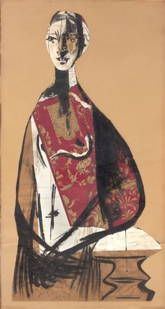 portrait of a lady, pablo picasso, 1928