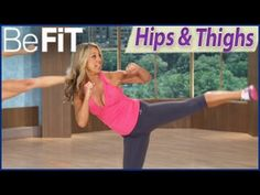 Denise Austin: Shrink Your Fat Zones Workout for the Hips & Thighs is a 10 minute, lower body-targeted fat-burning workout that uses your own body weight to ...
