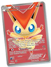 This is a very cool victini card.