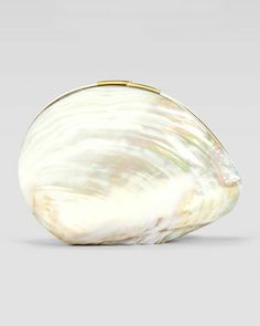 Sirene Shell Minaudiere, White by Rafe at Neiman Marcus.