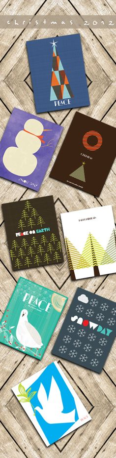 Our Lovely Holiday 2012 Card Collection