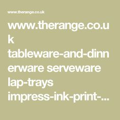 www.therange.co.uk tableware-and-dinnerware serveware lap-trays impress-ink-print-fish-lap-tray