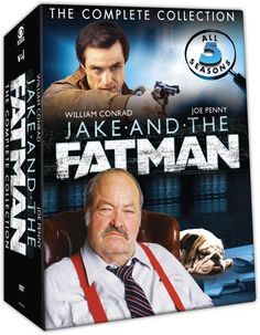 Jake and the Fatman - 'The Complete Series' DVD Set: Date, Cost, Package Art, More!