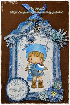 ♥ Einfach nur Blau  bei Cards und More Challenge ♥