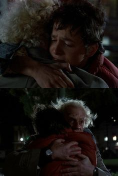 These kinds of hugs I would love a hug from Marty McFly