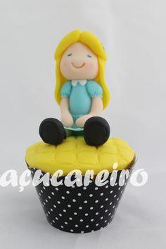 Cupcakes Alice no País das Maravilhas - Alice