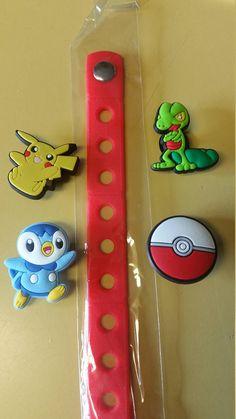 Check out this item in my Etsy shop https://www.etsy.com/listing/541044039/pokemon-pikachu-jibbitz-croc-charm