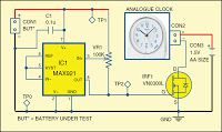 Electrical and Electronics Engineering: Battery-Discharge Measurement Circuit