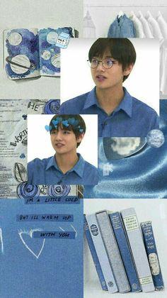 Kim Taehyung (V) - BTS Bts Taehyung, Bts Bangtan Boy, Namjoon, Jimin, Tumblr Wallpaper, Bts Wallpaper, Collages, Bts Kim, Aesthetic Lockscreens