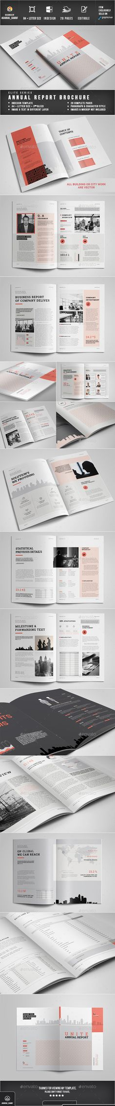Annual Report Template InDesign INDD. Download here: https://graphicriver.net/item/annual-report/17126366?ref=ksioks