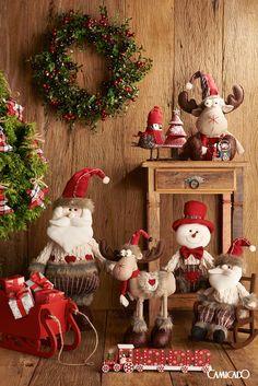 Nunca é cedo demais para pensar na decoração de Natal. Clique na imagem e conheça nosso catálogo.