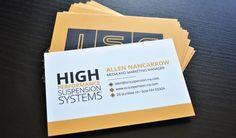 ISC Business Card Design