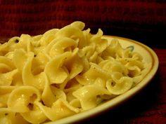 Hot Buttered Garlic Noodles